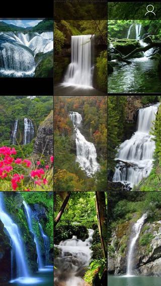 Cool Waterfall Wallpapers - Natural Pictures of Streams Dams and High Water falls Retina Backgrounds