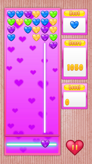 My Popping Love Heart - Match-up in Valentine Season Pro