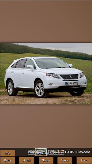 Cars Specs Lexus Version