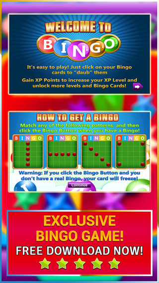 Bingo Hours - Play the Simple and Easy to Win Casino Card Game for FREE