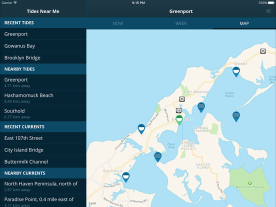 Tides near me free on the app store for Tides for fishing app