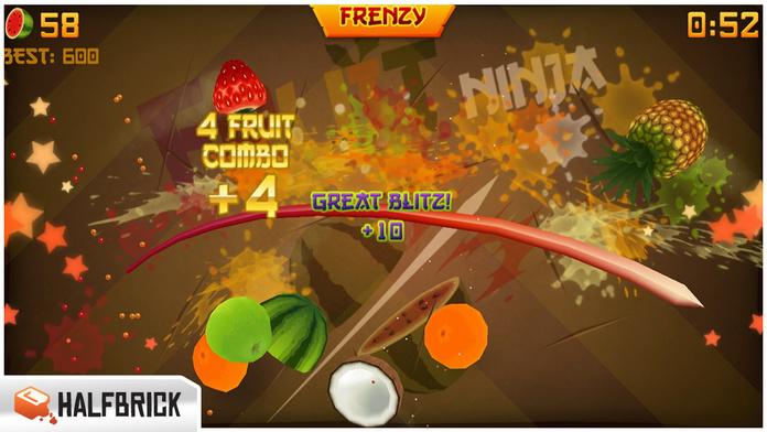 Fruit Ninja Free - iPhone 移动 Analytics 和App商店数据