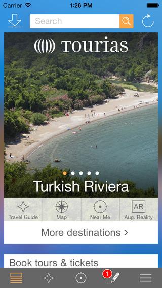 Turkish Riviera Travel Guide – TOURIAS Travel Guide free offline maps