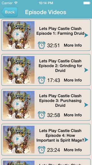 Guide for Castle Clash - All Level Video Walkthrough Guide