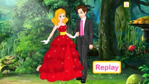 Forest Wedding Dress Up