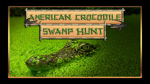 American Crocodile Swamp Hunt: Swampy Water Alligator Hunting Simulator FREE