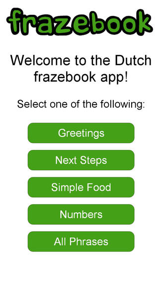 Learn Dutch with Frazebook