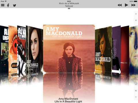 CoverFlow HD iPad Screenshot 1