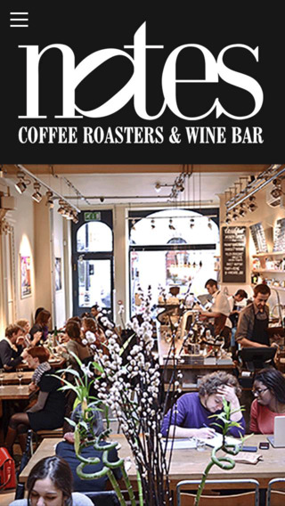 Notes Coffee Roasters Wine Bar