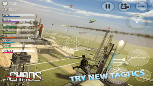 C.H.A.O.S Боевые вертолеты HD - №1 многопользовательский  вертолетный симулятор Screenshot
