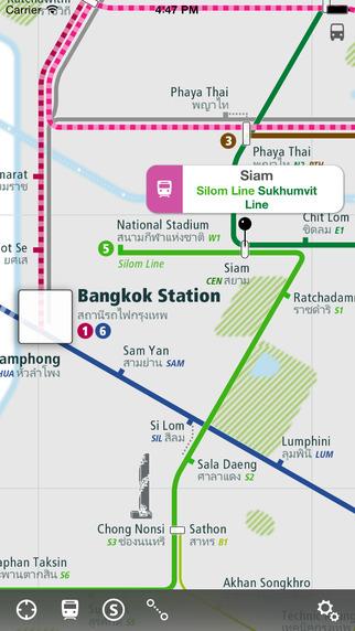 Bangkok Rail Map