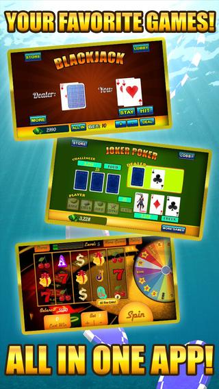 Absolute Fun Mega Casino - Hot Las Vegas Casino Games