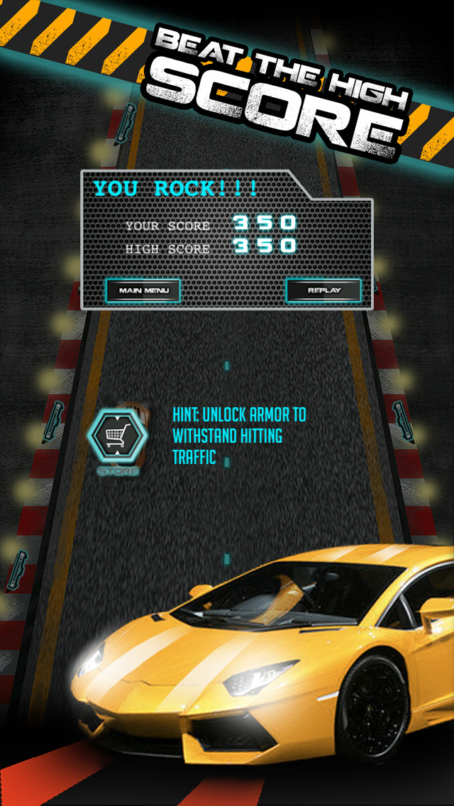 A Auto Car Death Underground  Racing Pro HD - Super Speed Nitro to escape police in highway