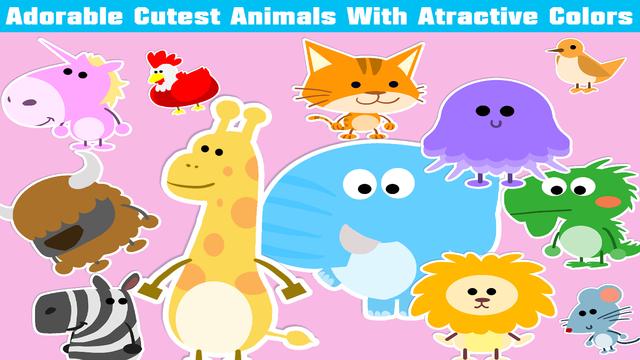 Toddler Musical Alphabet Animal Flashcards