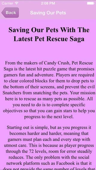 Guide for Pet Rescue Saga - All New Levels Videos Strategy Tricks Tips Walkthrough
