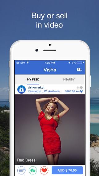 Visho - No.1 video shopping platform