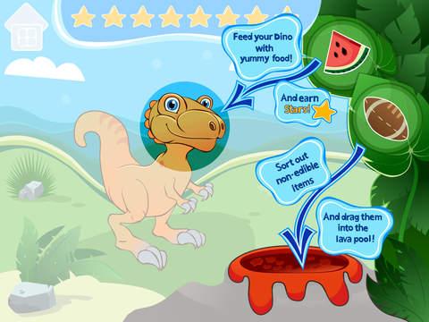 Голодный Динозаврик Screenshot