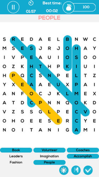 Word Search Daily - 2016 Puzzle Game of Topics to Practice and Solve with Popular English Vocabulary