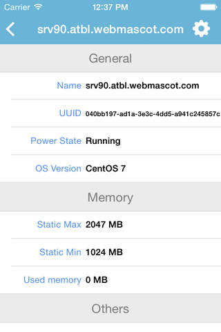 iXenCenter screenshot 3