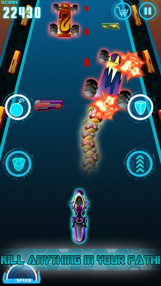 Astral Neon Realm - Super Hero Racer Rage