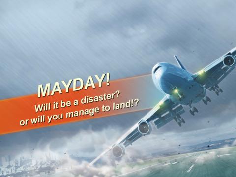 "itunes 的 app store 中的""mayday! 2 空中惊魂"