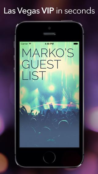 Marko's Guest List