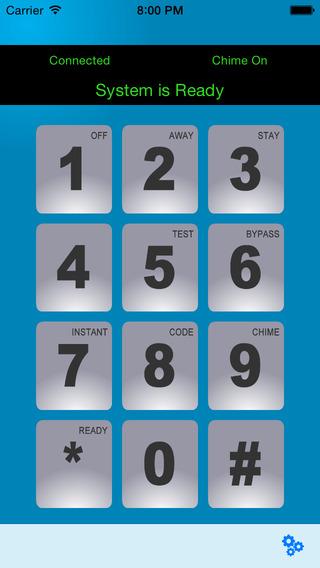 Mobile Alarm Keypad for AD2PI
