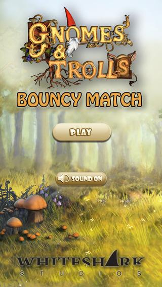 Gnomes Trolls Bouncy Match