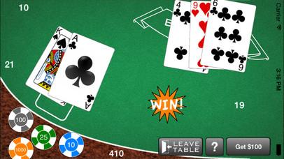 Screenshot 5 AAA Blackjack– Бесплатный игорный симулятор казино Блэкджек 21