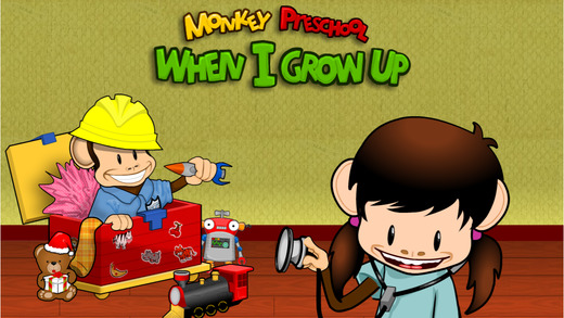 Monkey Preschool: When I Grow Up Holiday Edition