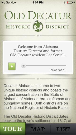 Old Decatur Historic Walking Tour - City of Decatur AL