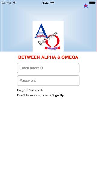 Between Alpha Omega