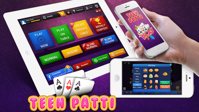 Teen Patti Three Cards Poker