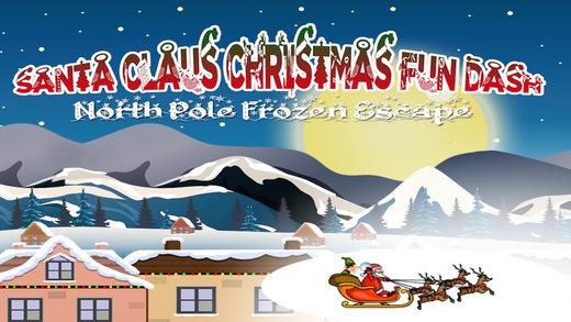 Santa Claus Christmas Fun Dash - Frozen North Pole Escape 2