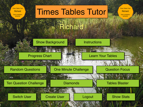 Times Tables Tutor