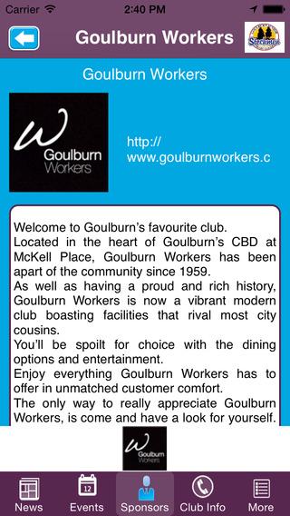 Goulburn Stockmen Junior Rugby League Football Club