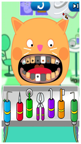 Pig and Friend Dentist Game