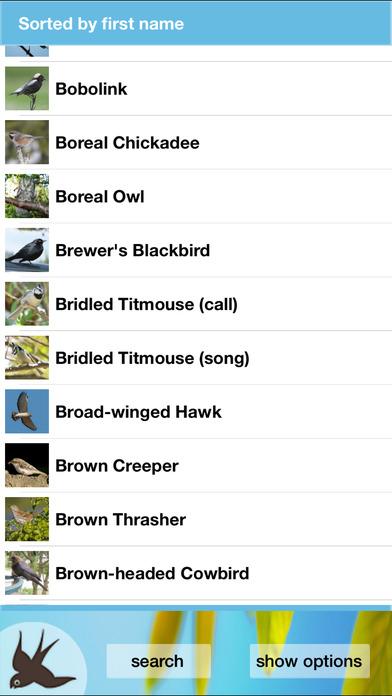 Chirp! Bird Songs USA + iPhone Screenshot 5