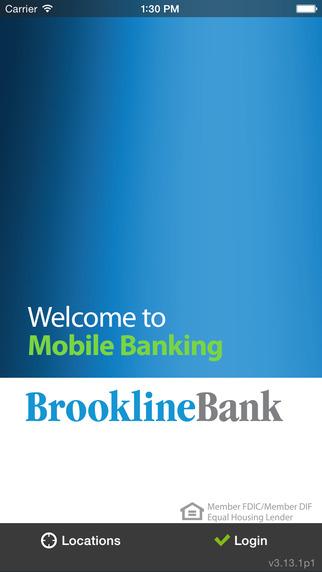 Brookline Bank - Mobile Banking