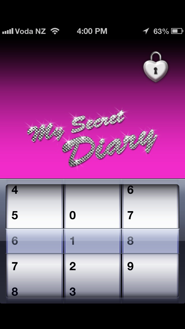 My Secret Diary screenshot 1