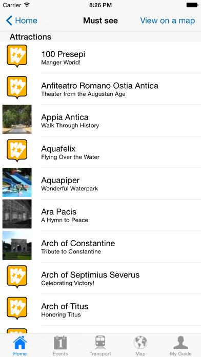Rome Travel Guide Offline iPhone Screenshot 5