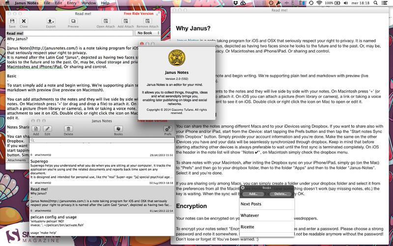 Janus Notes 2 Screenshot - 1