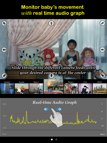 uBabyCam with AV recording screenshot