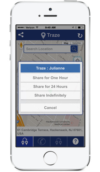 【免費旅遊App】Traze : reach your friends-APP點子