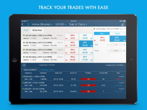 Virtual options trading ipad