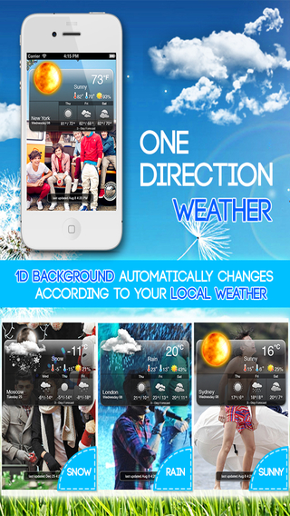 Weather: One Direction Edition