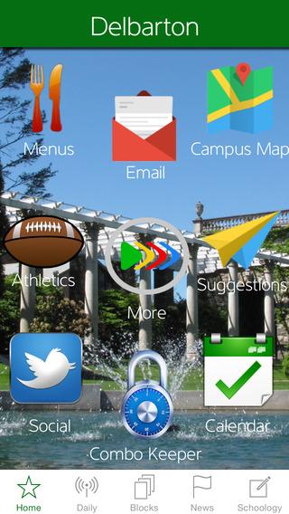 Delbarton iPhone Screenshot 1