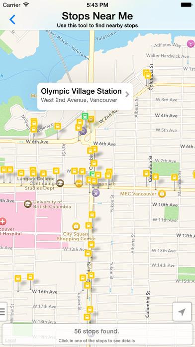 Go Vancouver iPhone Screenshot 3