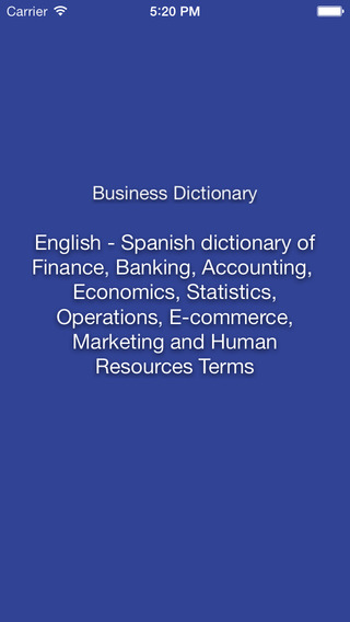 Libertuus Business Dictionary – English-Spanish dictionary of Finance and Economic Terms. Libertuus