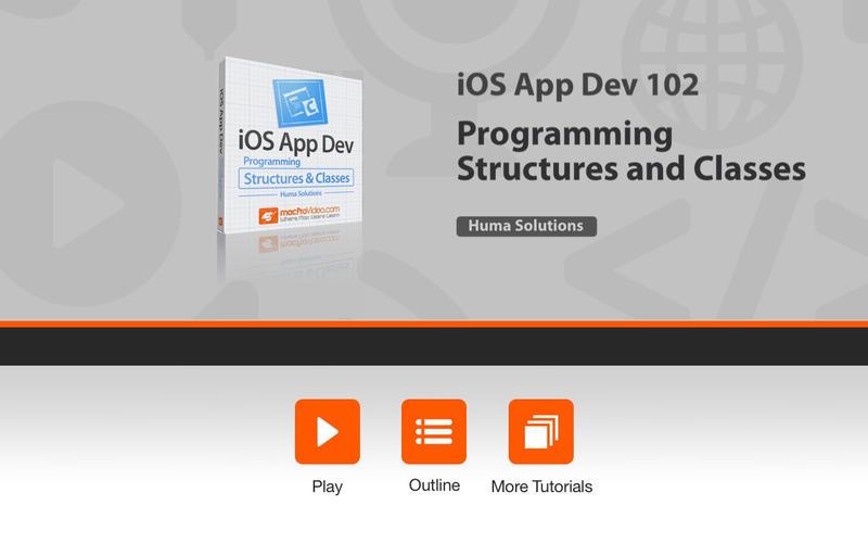 Course for iOS App Dev 102 Screenshot